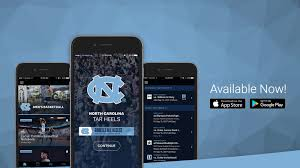 University amp; Goheels Ios For Of Android North Available App wH6AUYHR