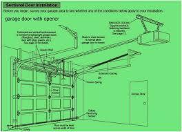 garage doors openers installation garage door opener installation instructions doors wall garage door