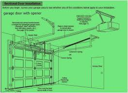 garage doors openers installation garage door opener installation instructions doors wall garage door