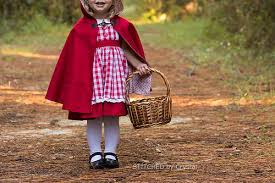 Childs Cape Pattern Inspiration STITCHED By Crystal Little Red Riding Hood And A Hooded Cape