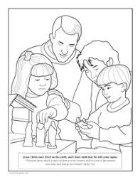 Small Picture A family reading together Childrens coloring page from ldsorg