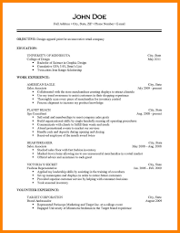 What Does A Resume Look Like For A Job 100 What A Resume Should Look Like Job Apply Form 58
