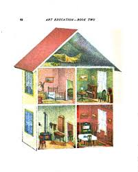 Design  Architectural  Juvenile  Interior  Doll House - Dolls house interior