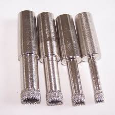 diamond bit. taper shank mechanical diamond drill bits for glass bit