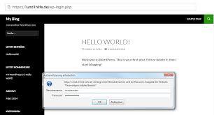 Protect WordPress login (wp-admin): .htaccess password/directory ...