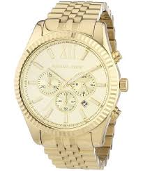 buy michael kors men s watches for creationwatches michael kors lexington chronograph champagne dial mk8281 men s watch
