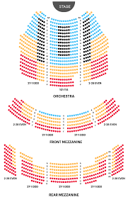 Hobby Center Seating Chart View Imperial Theater Seating Chart Aint Too Proud Broadway Guide
