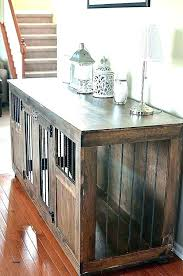 pet crate furniture. Dog Crates Furniture Custom Crate Wooden Pet A