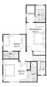 4 Bedroom Semi Detached House Plans