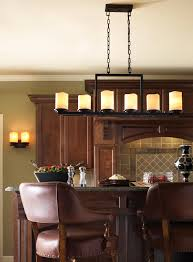 linear pillar candle chandelier designs