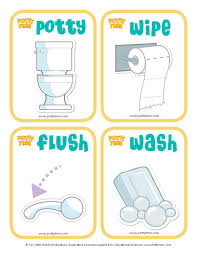 Potty Time Sequence Cards Toddler Potty Training Toddler