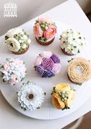 Top 16 Cupcake Decor Design With Spring Flower Cheap Easy Wedding