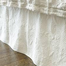 Marin Quilted Bedskirt | Ballard Designs & Marin Quilted Bedskirt Adamdwight.com