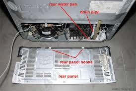 refrigerator drip pan overflow. Beautiful Overflow Rear Components For Refrigerator Drip Pan Overflow L