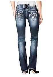 Rock Revival Size Chart Rock Revival Noelle Flap Pocketmiss Me Jeans Womens Size