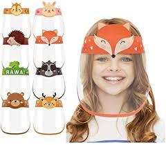 Kids Protection <b>Face Shield</b>, Adjustable Clip Full <b>Face Protective</b> ...