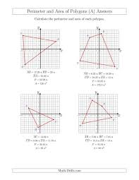 Kids : Perimeter And Area Polygons Coordinate Planes Math Plane ...