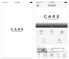 公式アプリ 神戸 梅田 心斎橋の美容院care ケア ヘアサロン 美容院