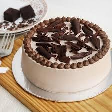 Round Half Kg Shape Chocolate Truffle Cake Rs 640 Piece Id