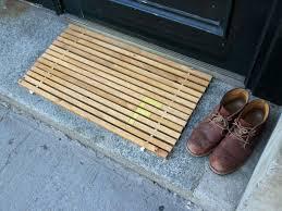 Modern Door Mat Wooden : The Holland - Innovative Modern Door Mat