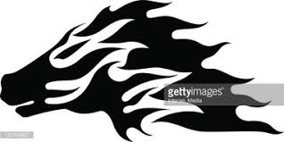 Tetování Tribal Koně Vektory Z Knihovny Clipartme
