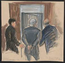 10+ Rare Courtroom Sketches From Most Infamous Trials Where No Cameras Were  Allowed | DeMilked