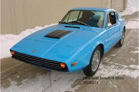 Tom Donney Motors – 1970 Saab Sonett III