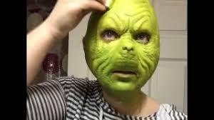 the grinch that stole christmas makeup tutorial