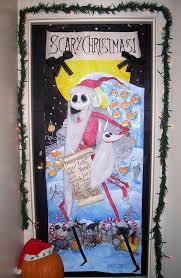 halloween door decorating contest winners. Fanciful Nightmare Before Christmas Door Decorations Decorating Halloween Contest Winners