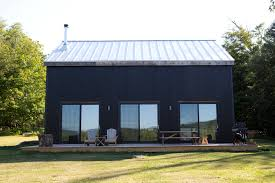 corrugated metal siding exterior rustic with adirondack chairs corrugated metal siding deck glass1