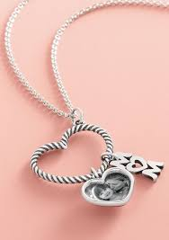 charm holder necklace mom charm