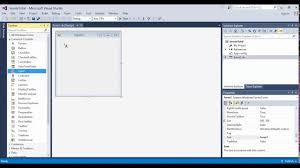 Visual Studio Design Tools Visual Studio 2015 Visual Basic Design Layout