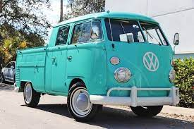1963 Vw Double Cab Type 2 Pickup Truck For Sale Pickup Trucks For Sale Pickup Trucks Trucks For Sale