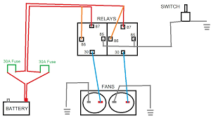 electric fan wiring diagram relay electric electric fan relay wiring diagram electric image on electric fan wiring diagram relay