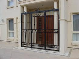 Front Doors  Educational Coloring Front Door Iron Gate  Wrought - Iron exterior door