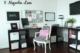 pink black white office black. Black, White, And Pink Home Office Black White O
