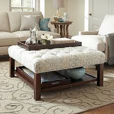 square coffee table with storage cubes new birch lane everly ottoman