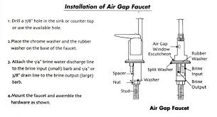 ro faucet with air gap. Unique Faucet How To Install An Airgap Faucet In Ro With Air Gap P