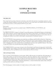 Cover Letter Sample Of Resume For Applying Job Sample Of Resume