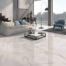 white floor tiles living room. Unique Floor Calacatta White Gloss Floor Tiles  Grey Design In Living Room U