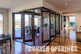 corner opening bi fold doors