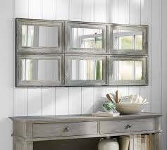 aiden large paneled wall mirror