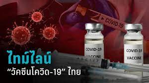 ปฏิทินวัคซีนโควิด-19 ของประเทศไทย : PPTVHD36