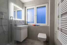 Malerarbeiten Hannover Fugenloses Badezimmer In Betonoptik