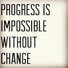 progress #quotes #habit #change #forwardthinking... - Vitaly Tennant via Relatably.com