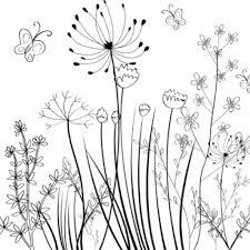 flower border black and white flower border line black white free vector 32266 free plant