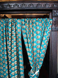 print curtains and door molding african fabric names
