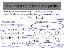 8 solving a quadratic
