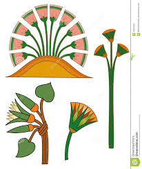 Egyptian Glass Painting Designs Egyptian Flowers In 2020 Ancient Egypt Art Ancient