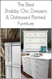 White furniture shabby chic Bedroom Furniture The Best Shabby Chic Dressers And Distressed Painted Furniture Makeovers From Few Top Bloggers Mikhak The Best Shabby Chic Dressers And Distressed Painted Furniture